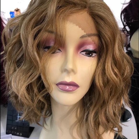 Wig short blonde wavy bob sale 2019 Newlt